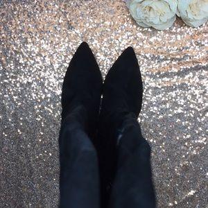 Adrienne Vittadini Shoes - Adrienne Vittadini Black Over the Knee Boots 9.5M